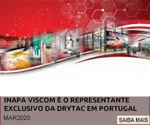 INAPA VISCOM É O REPRESENTANTE EXCLUSIVO DA MARCA DRYTAC EM PORTUGAL