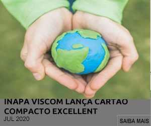 INAPA VISCOM LANÇA CARTÃO COMPACTO EXCELLENT COMO ALTERNATIVA SUSTENTÁVEL AO PVC